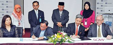Brunei Signing Ceremony