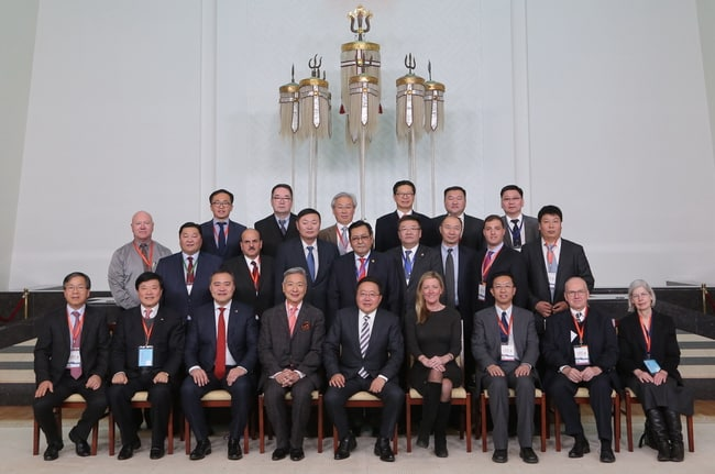 President-of-Mongolia-received-delegates-of-the-first-International-Symposium-on-Technology-and-Innovation