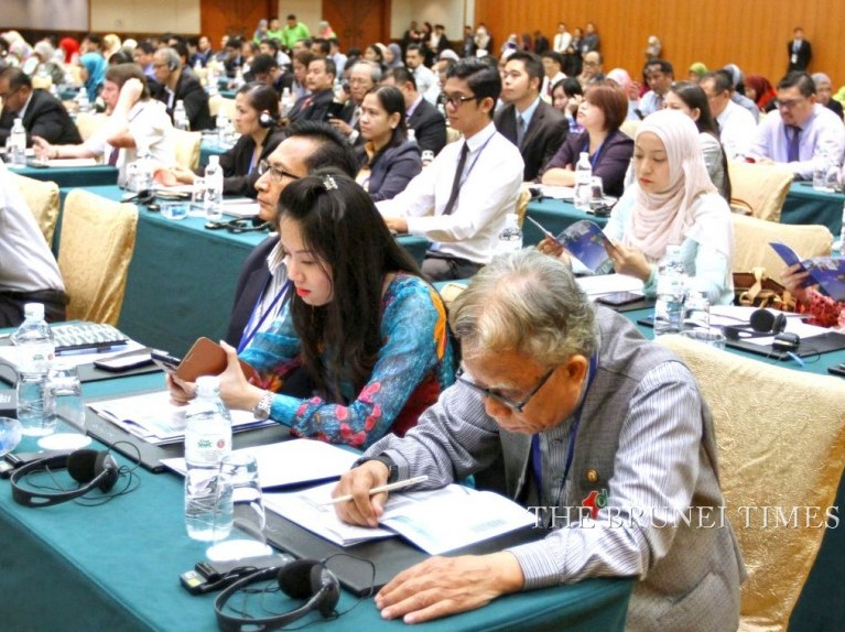 Participants during the International Food and Biotech Investment Conference yesterday held at Indera Samudra Grand Hall, The Empire Hotel and Country Club.